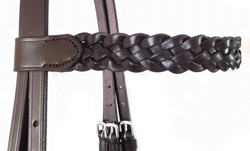 5 strand plaited browband